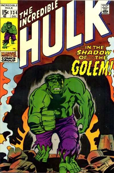 Incredible Hulk #134 comic books for sale