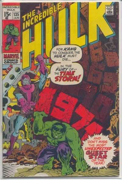 Incredible Hulk #135 comic books for sale