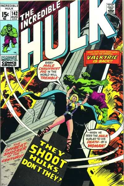 Incredible Hulk #142 comic books for sale