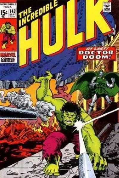Incredible Hulk #143 comic books - cover scans photos Incredible Hulk #143 comic books - covers, picture gallery