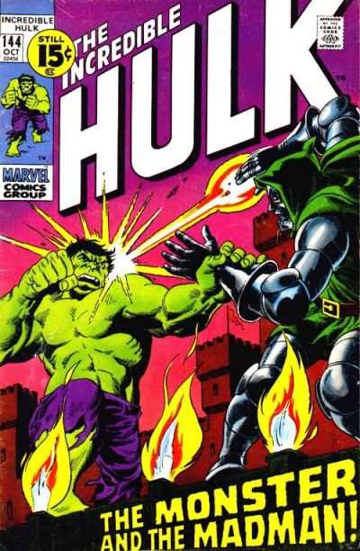 Incredible Hulk #144 comic books - cover scans photos Incredible Hulk #144 comic books - covers, picture gallery