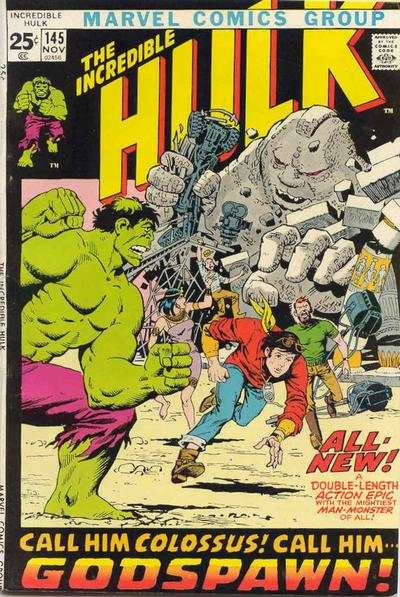 Incredible Hulk #145 comic books for sale