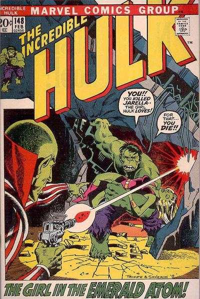 Incredible Hulk #148 comic books - cover scans photos Incredible Hulk #148 comic books - covers, picture gallery