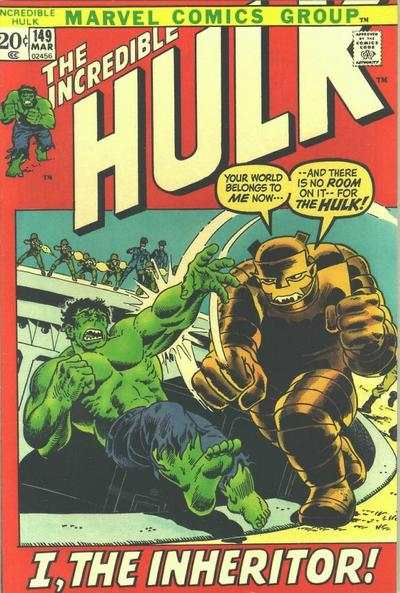 Incredible Hulk #149 comic books - cover scans photos Incredible Hulk #149 comic books - covers, picture gallery