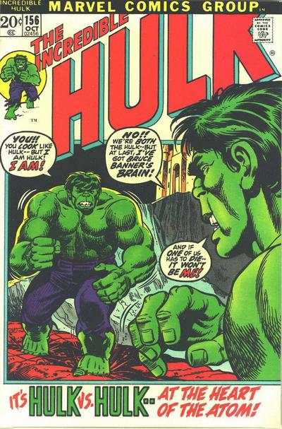 Incredible Hulk #156 comic books for sale