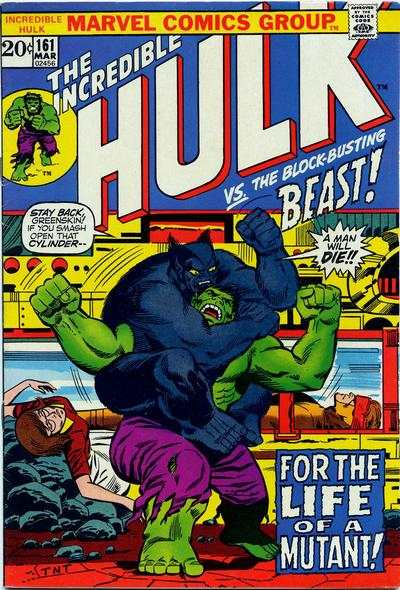 Incredible Hulk #161 comic books for sale