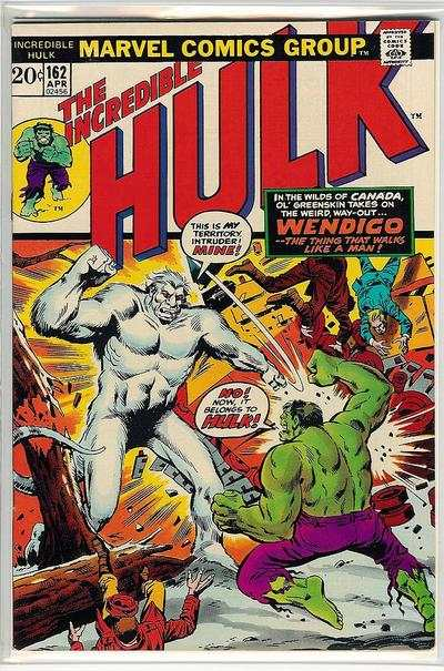 Incredible Hulk #162 comic books - cover scans photos Incredible Hulk #162 comic books - covers, picture gallery