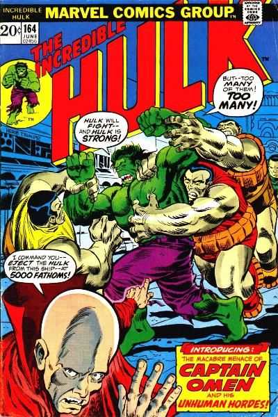 Incredible Hulk #164 comic books - cover scans photos Incredible Hulk #164 comic books - covers, picture gallery