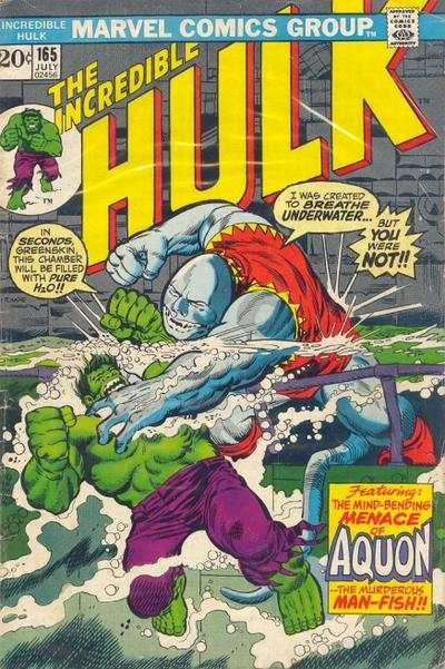 Incredible Hulk #165 comic books - cover scans photos Incredible Hulk #165 comic books - covers, picture gallery
