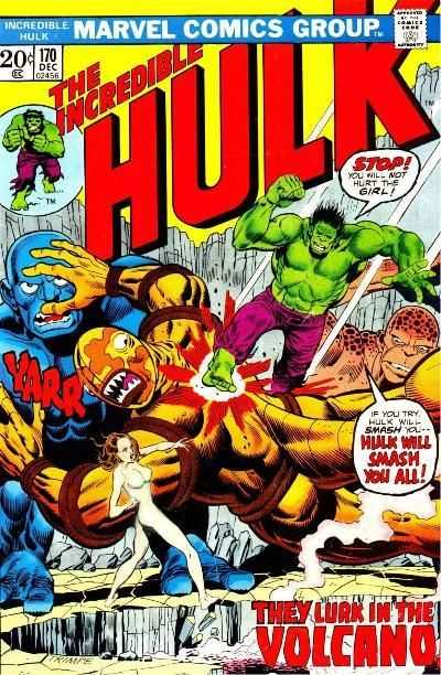 Incredible Hulk #170 comic books - cover scans photos Incredible Hulk #170 comic books - covers, picture gallery