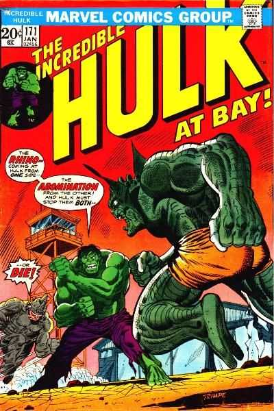 Incredible Hulk #171 comic books - cover scans photos Incredible Hulk #171 comic books - covers, picture gallery