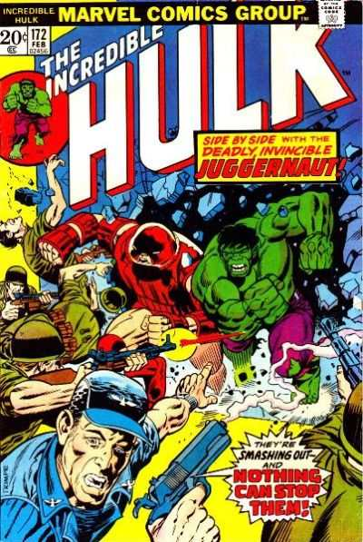 Incredible Hulk #172 comic books - cover scans photos Incredible Hulk #172 comic books - covers, picture gallery