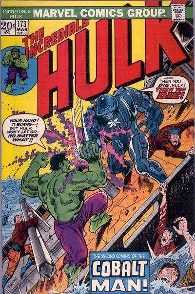 Incredible Hulk #173 comic books - cover scans photos Incredible Hulk #173 comic books - covers, picture gallery