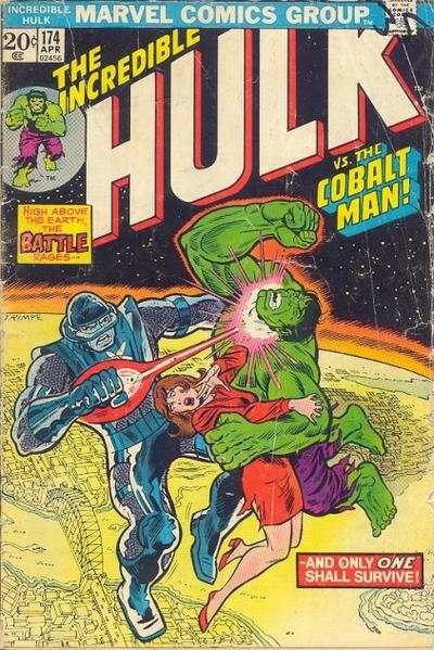 Incredible Hulk #174 comic books - cover scans photos Incredible Hulk #174 comic books - covers, picture gallery