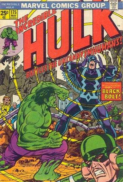 Incredible Hulk #175 comic books - cover scans photos Incredible Hulk #175 comic books - covers, picture gallery