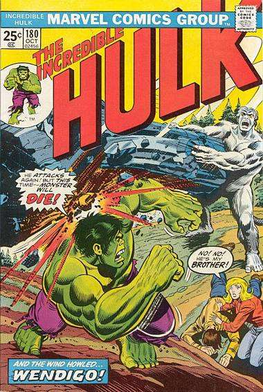 Incredible Hulk #180 Comic Books - Covers, Scans, Photos  in Incredible Hulk Comic Books - Covers, Scans, Gallery