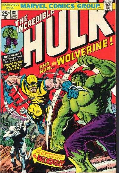 Incredible Hulk #181 Comic Books - Covers, Scans, Photos  in Incredible Hulk Comic Books - Covers, Scans, Gallery