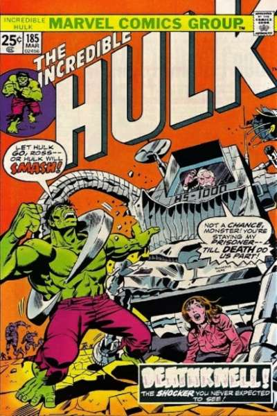 Incredible Hulk #185 comic books - cover scans photos Incredible Hulk #185 comic books - covers, picture gallery