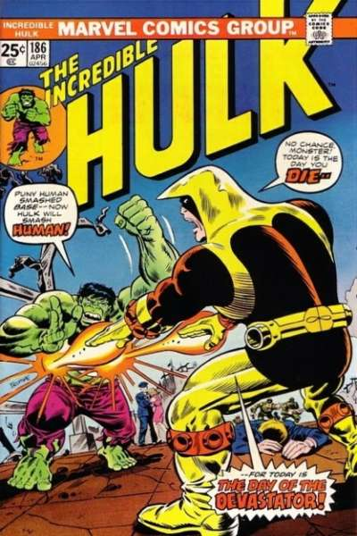 Incredible Hulk #186 comic books - cover scans photos Incredible Hulk #186 comic books - covers, picture gallery
