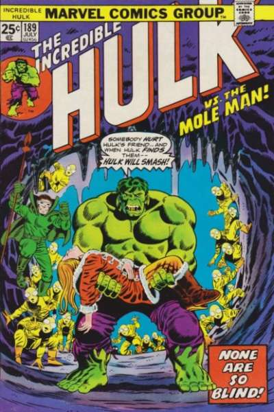 Incredible Hulk #189 comic books - cover scans photos Incredible Hulk #189 comic books - covers, picture gallery