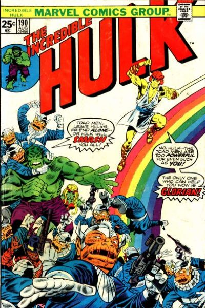 Incredible Hulk #190 comic books - cover scans photos Incredible Hulk #190 comic books - covers, picture gallery
