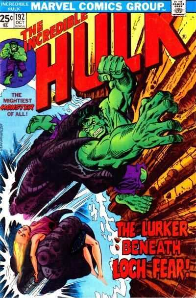 Incredible Hulk #192 comic books - cover scans photos Incredible Hulk #192 comic books - covers, picture gallery