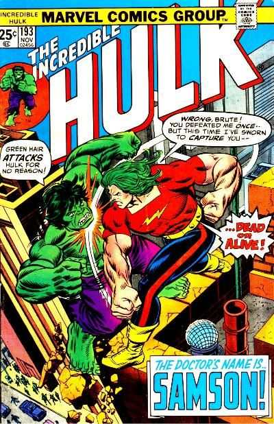 Incredible Hulk #193 comic books - cover scans photos Incredible Hulk #193 comic books - covers, picture gallery