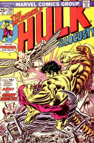 Incredible Hulk #194 comic books - cover scans photos Incredible Hulk #194 comic books - covers, picture gallery