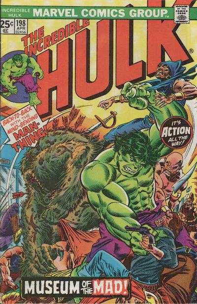Incredible Hulk #198 comic books - cover scans photos Incredible Hulk #198 comic books - covers, picture gallery