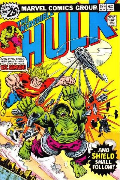 Incredible Hulk #199 comic books - cover scans photos Incredible Hulk #199 comic books - covers, picture gallery