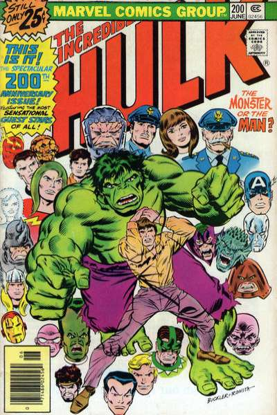 Incredible Hulk #200 comic books - cover scans photos Incredible Hulk #200 comic books - covers, picture gallery