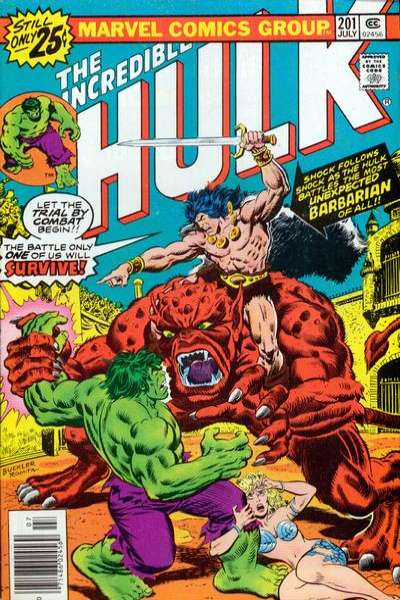 Incredible Hulk #201 comic books - cover scans photos Incredible Hulk #201 comic books - covers, picture gallery