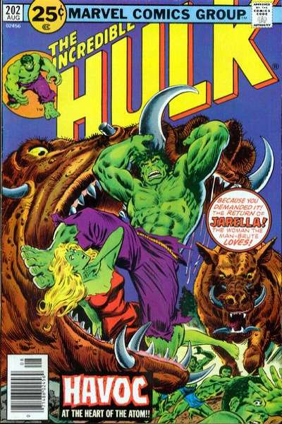 Incredible Hulk #202 comic books - cover scans photos Incredible Hulk #202 comic books - covers, picture gallery