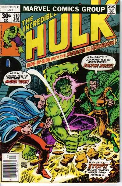 Incredible Hulk #210 comic books - cover scans photos Incredible Hulk #210 comic books - covers, picture gallery