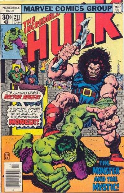 Incredible Hulk #211 comic books for sale