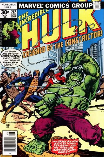 Incredible Hulk #212 comic books for sale