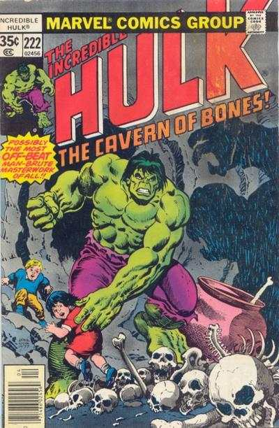 Incredible Hulk #222 comic books for sale