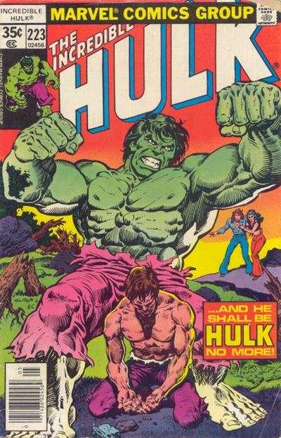 Incredible Hulk #223 comic books - cover scans photos Incredible Hulk #223 comic books - covers, picture gallery