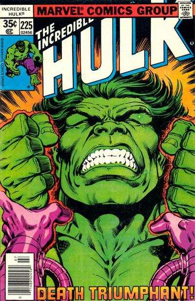 Incredible Hulk #225 comic books for sale