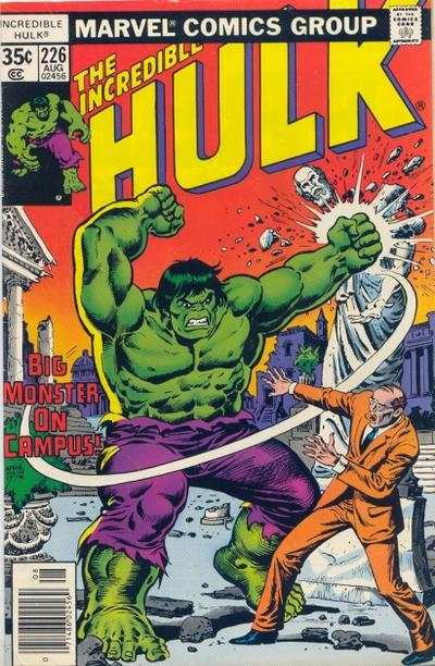 Incredible Hulk #226 comic books for sale