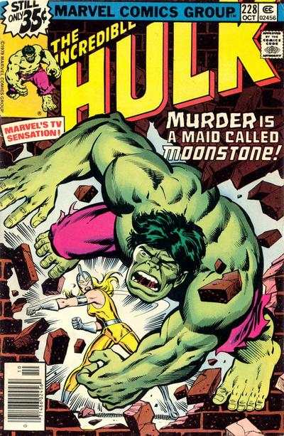 Incredible Hulk #228 comic books for sale