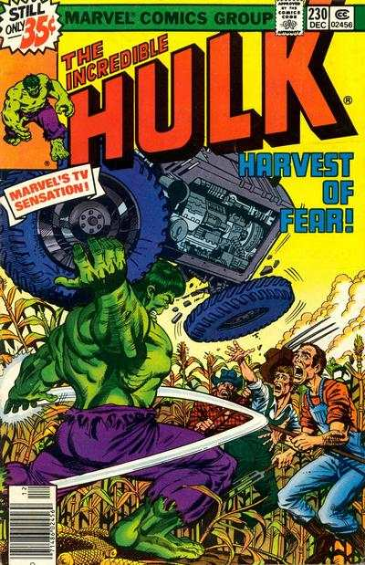 Incredible Hulk #230 comic books for sale