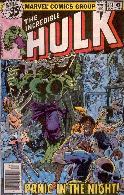 Incredible Hulk #231 comic books for sale