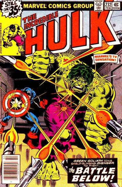 Incredible Hulk #232 comic books for sale