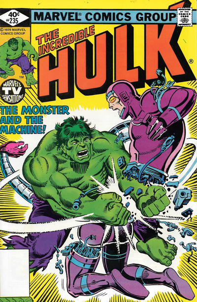 Incredible Hulk #235 comic books for sale