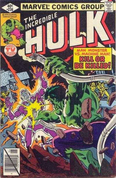 Incredible Hulk #236 comic books - cover scans photos Incredible Hulk #236 comic books - covers, picture gallery