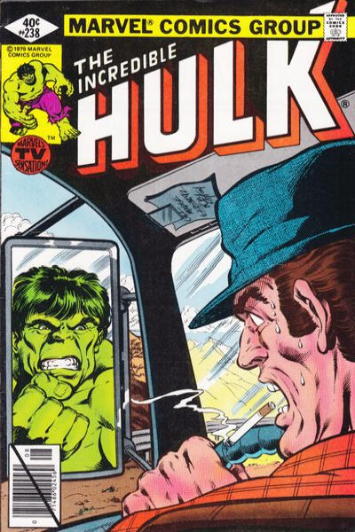Incredible Hulk #238 comic books - cover scans photos Incredible Hulk #238 comic books - covers, picture gallery
