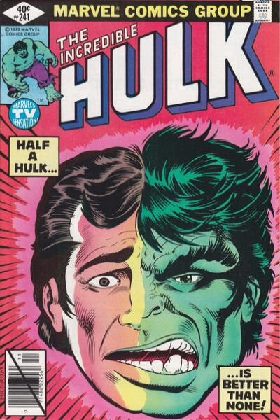 Incredible Hulk #241 comic books - cover scans photos Incredible Hulk #241 comic books - covers, picture gallery