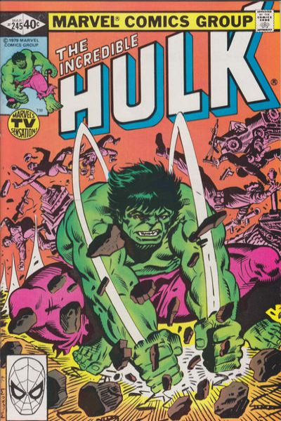 Incredible Hulk #245 comic books - cover scans photos Incredible Hulk #245 comic books - covers, picture gallery