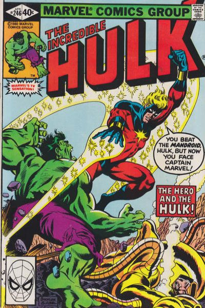 Incredible Hulk #246 comic books for sale